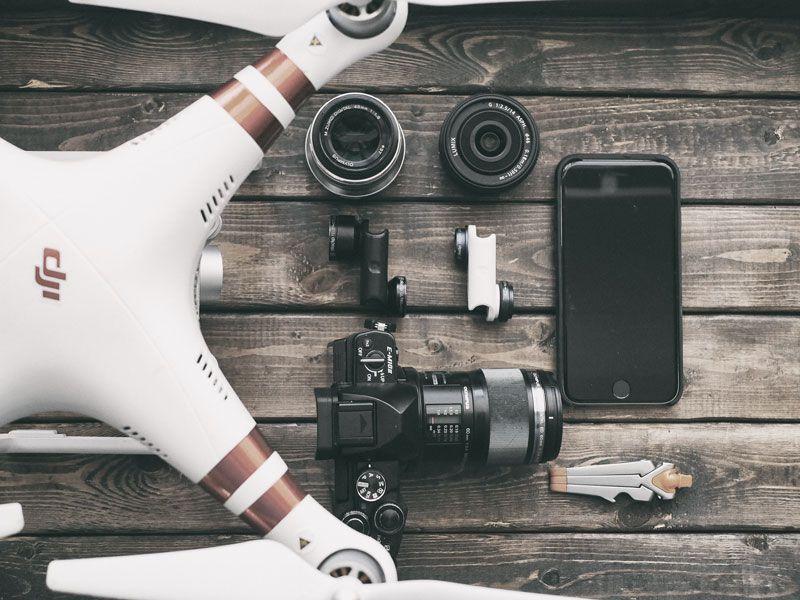 audiovisual operador drone catinred